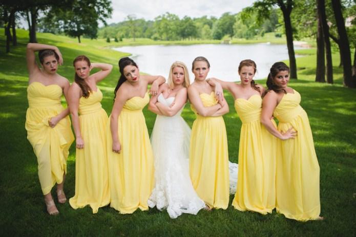 Bridal Party Attitude