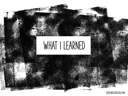 What I Learned From My Failure