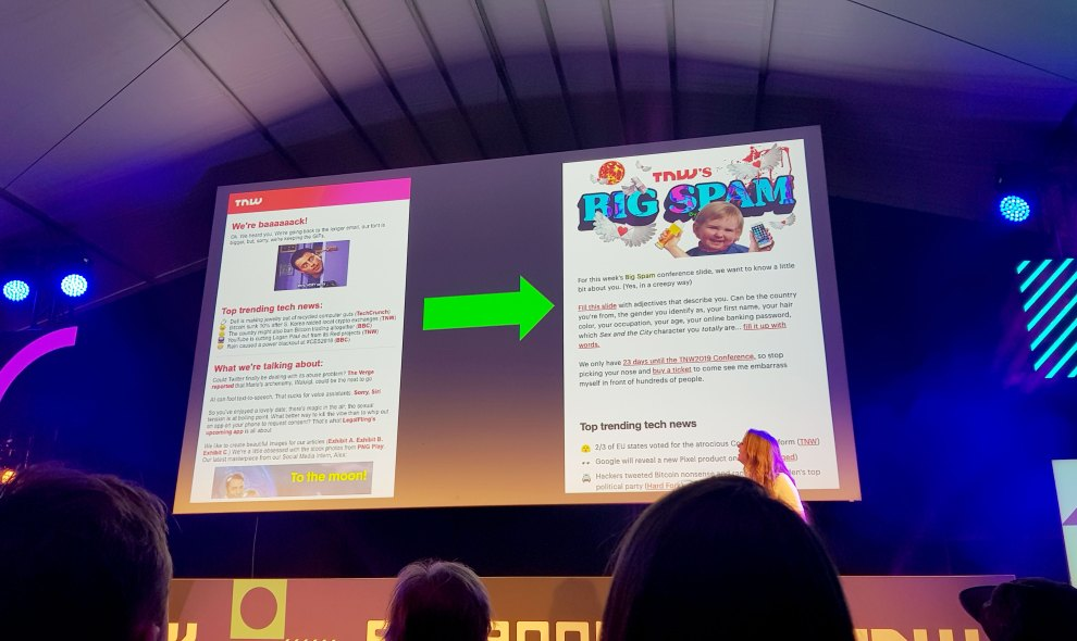 Georgina talks about what her team learned by changing the Big Spam newsletter