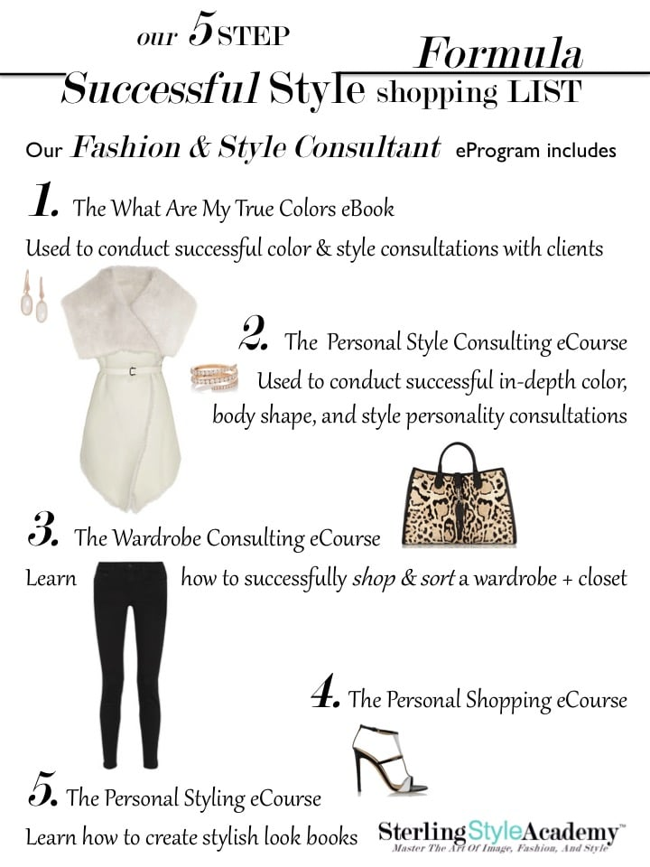 Ecertification Program Image Consultant Training Personal
