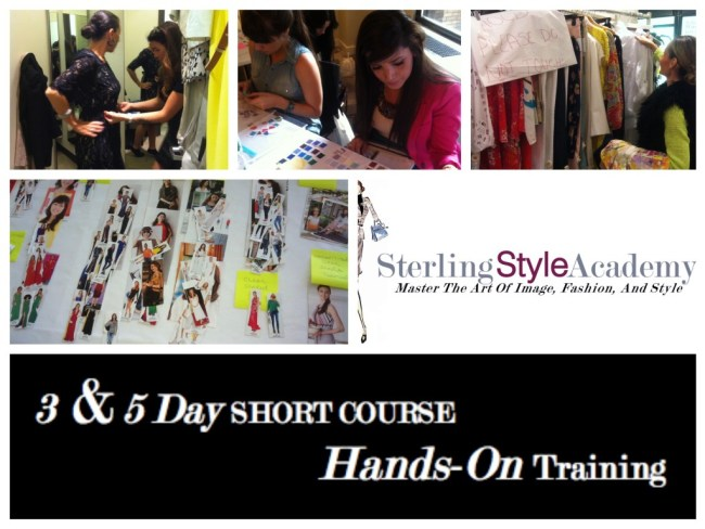 3 & 5 Day Short Course Hands On Training   Sterling Style Academy