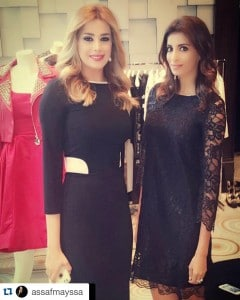 Mayssa Assaf with Rosemin Manji Dubai One
