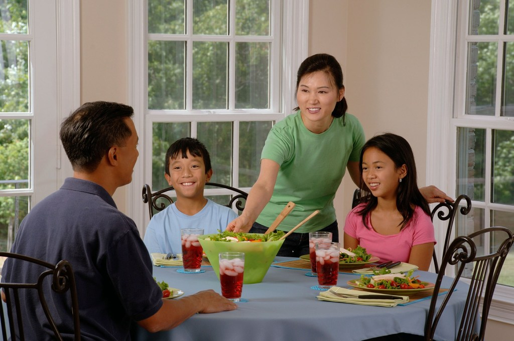 family meals after weight loss surgery