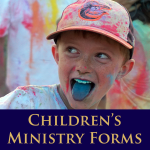 Children's Ministry Forms1