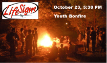 LifeSigns Youth Bonfire