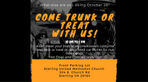 Trunk or Treat At Sterling UMC