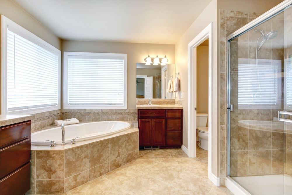 Split Toilet Shower One Idea For Bathroom Remodeling In Atlanta Ga
