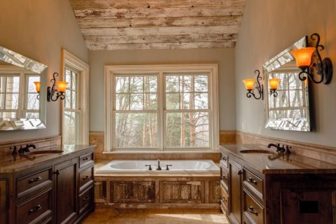 Get the Country Look for Your Next Bathroom Remodeling Project