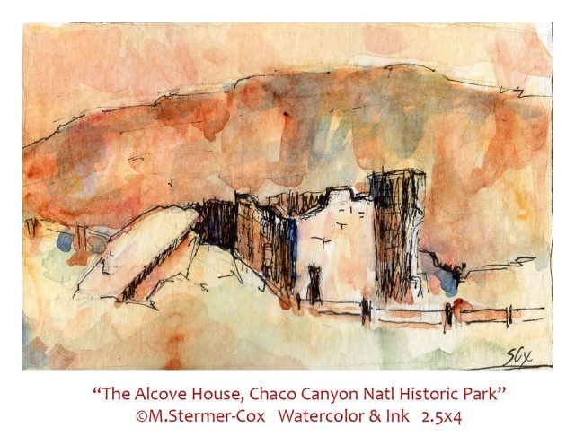 Travel Sketch: Alcove House