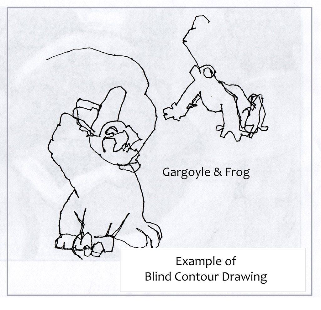 Blind Contour Drawing Definition