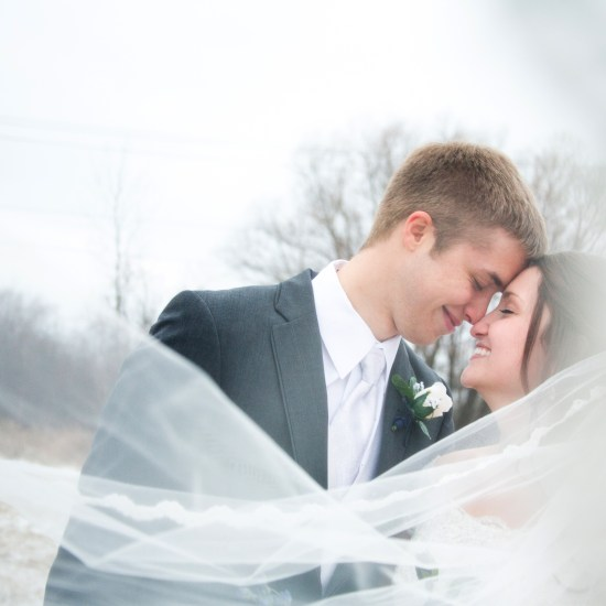 winter wedding wisconsin superior duluth wedding photographer