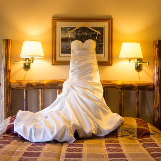 bride, dress, hotel, lodge