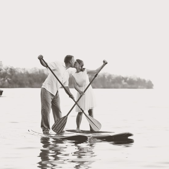 casual wedding, paddle boarding, paddleboard, paddle board, bayfield, wi, ashland