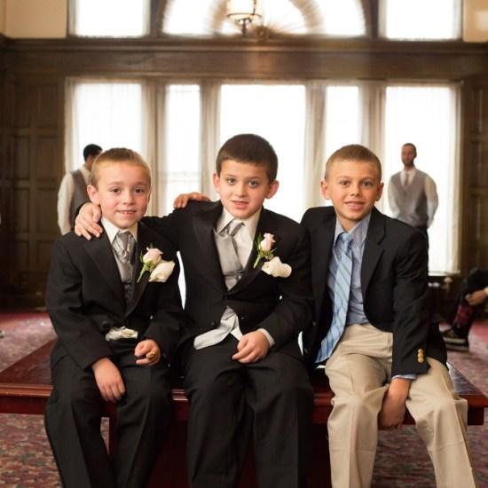 ring bearers, greysolon ballroom, duluth, mn
