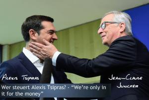 Alexis Tsipras und Jean-Claude Juncker