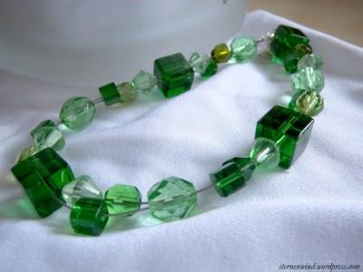 Armband grün