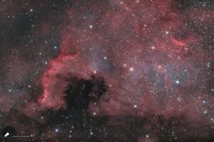 Der Nordamerikanebel - NGC 7000