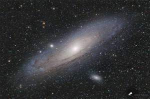 Die Andromedagalaxie - M31