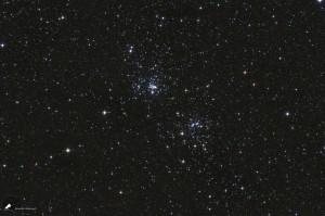 Ein offener Sternhaufen - H & Chi