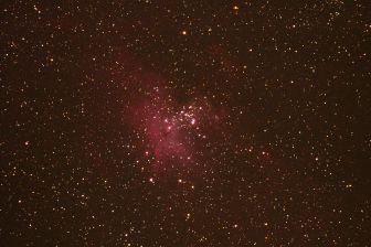 Adlernebel Messier 16 o NGC 6611