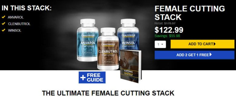 female cutting stack