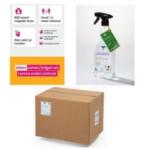 Pro Cleaner Desinfecterende Oppervlaktereiniger 750 ml Doos 10 Stuks