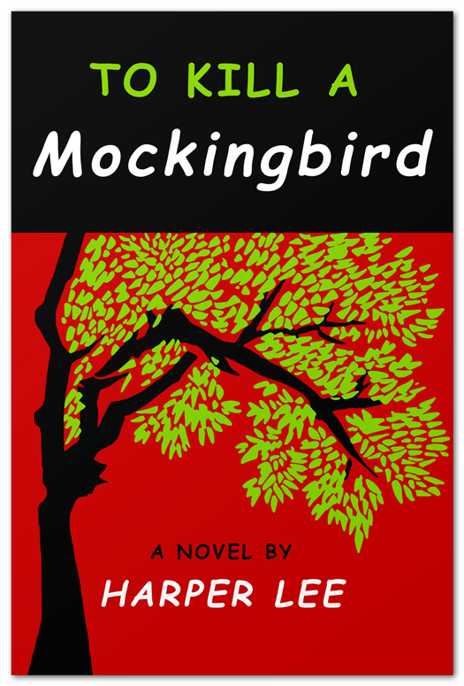Image result for kill a mockingbird book cover