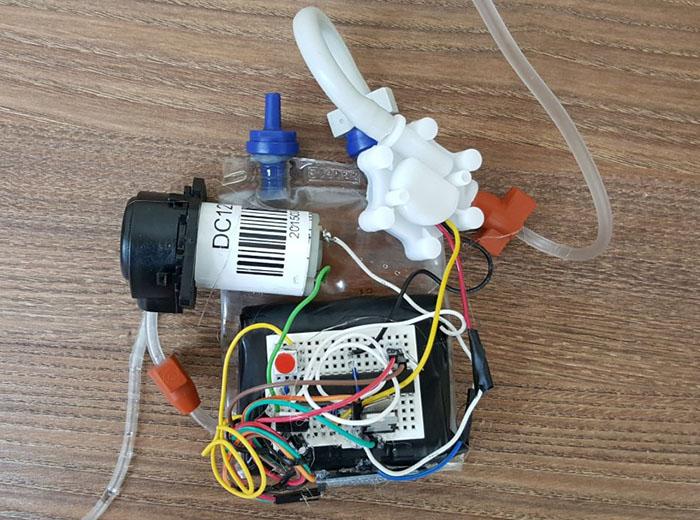 Artificial Bladder Prototype 1