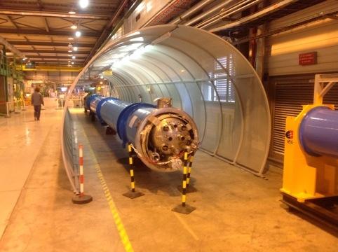 The LHC magnet testing facility (S Sekula)