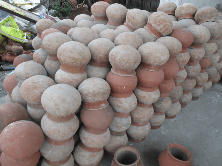 Earthenware water pots for sale