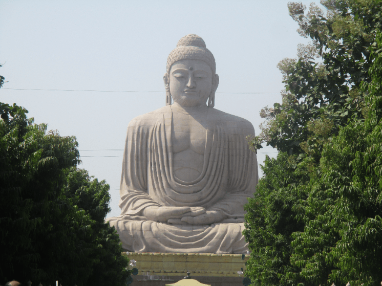 30 metre high Buddha built by the Japanese