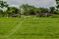 Hadrian's Wall tended by the current custodians