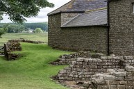 Hadrian's Wall and what used to be a part of a garrison post