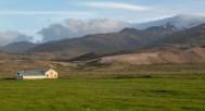 A lone barn - Þvottá