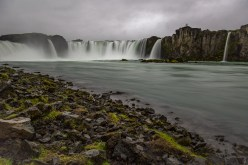 Goðafoss from the river Skjálfandafljót