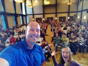 Wife and I speaking at the RV Entrepreneur conference