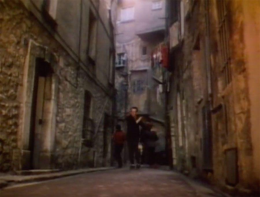 Steve and Carole in Vence - Elvis Costello & The Attractions - I Can't Stand Up For Falling Down - Impasse du Grand Four