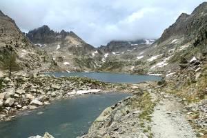 Hiking to Lac Nègre
