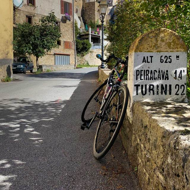 Steve and Carole in Vence - Moulinet, Col de Tourini & Col de Braus
