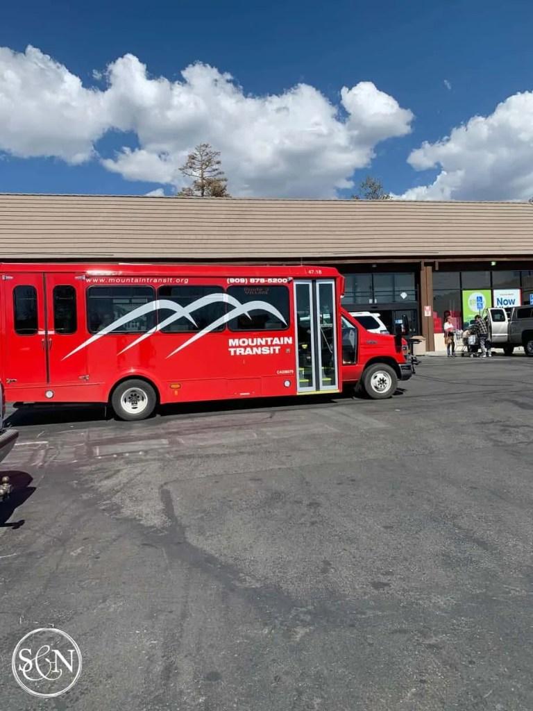 Big Bear's Mountain Transit