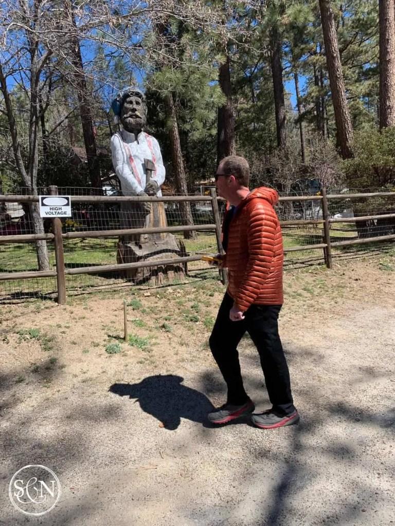 Idylwild statue