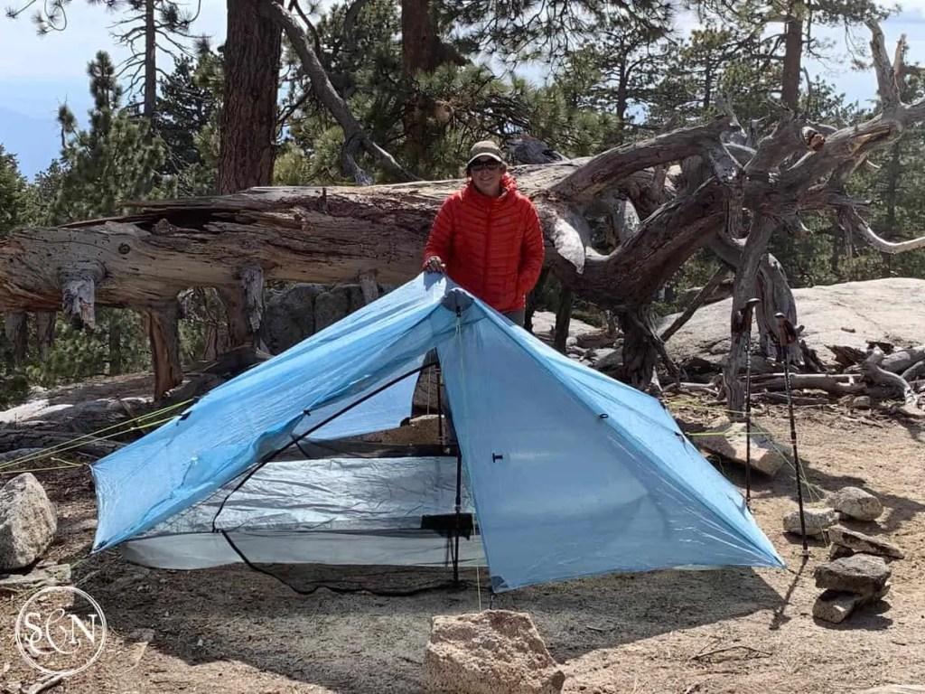 PCT Campsite