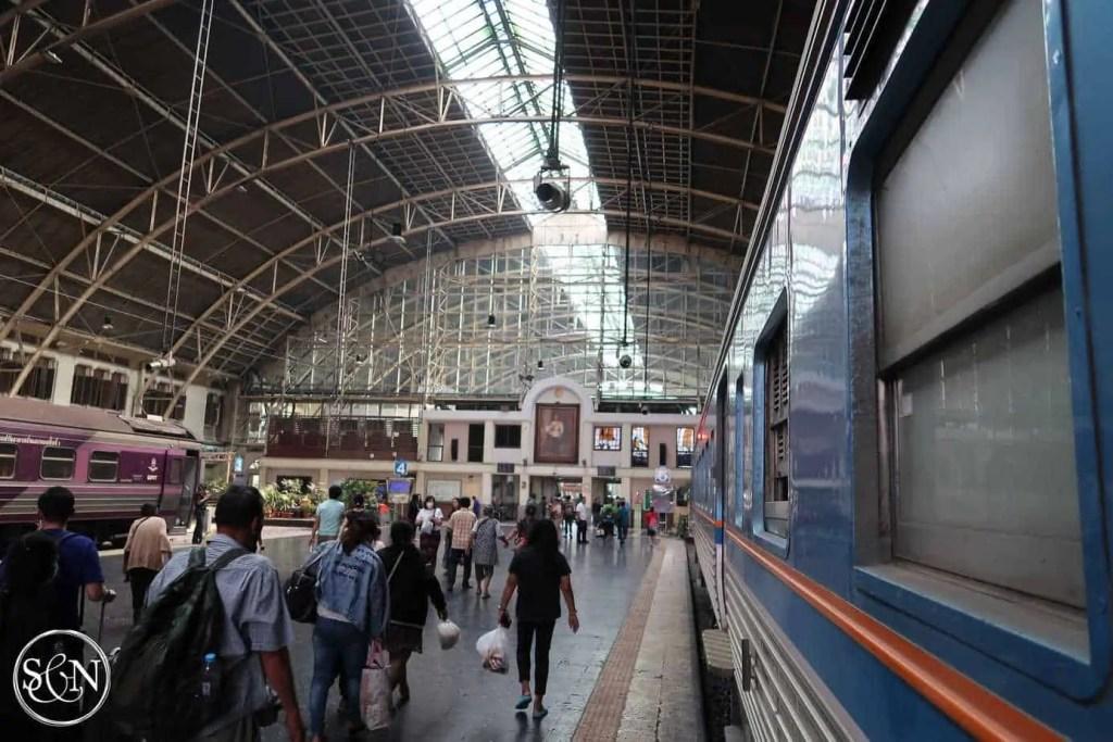 Hua Lamphon Station to Lopburi Monkey Temple is a must visit from Bangkok!