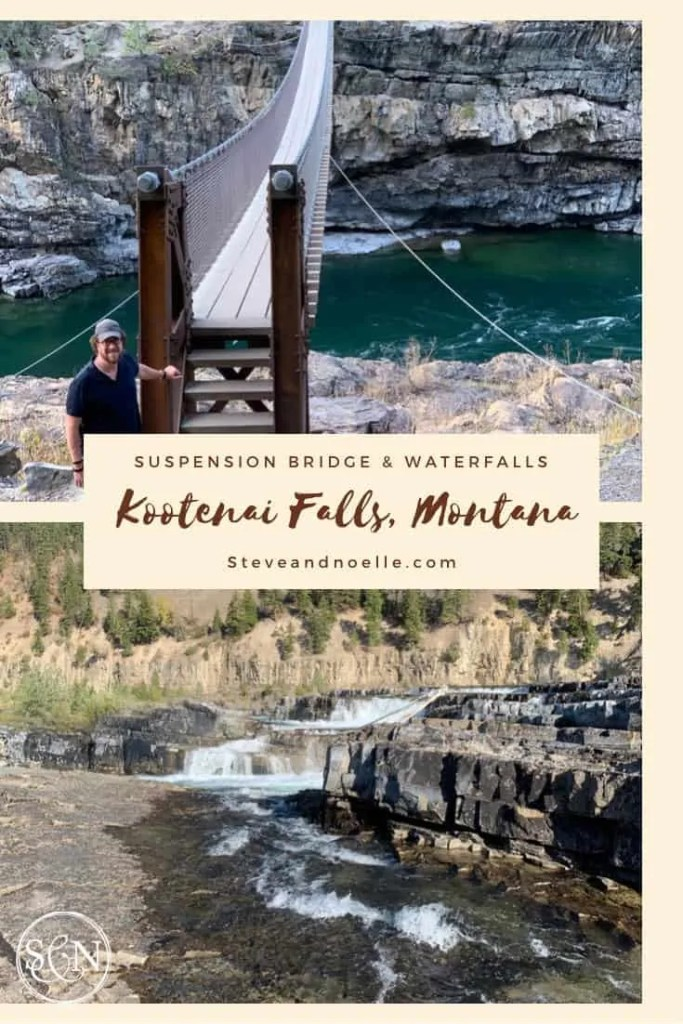 Kootenai Falls offers hiking, exploring and an amazing suspension bridge.  It's a beautiful area that showcases Montana's nature.