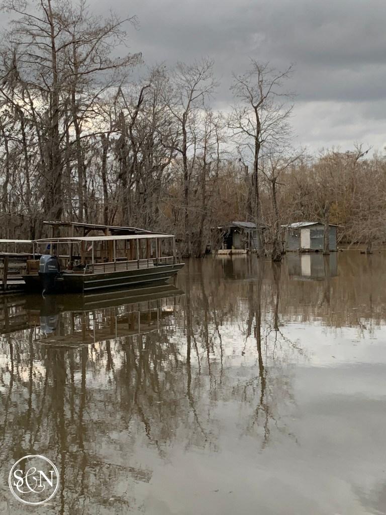 Fishing Cabins at Crawford Landing Boat Launch