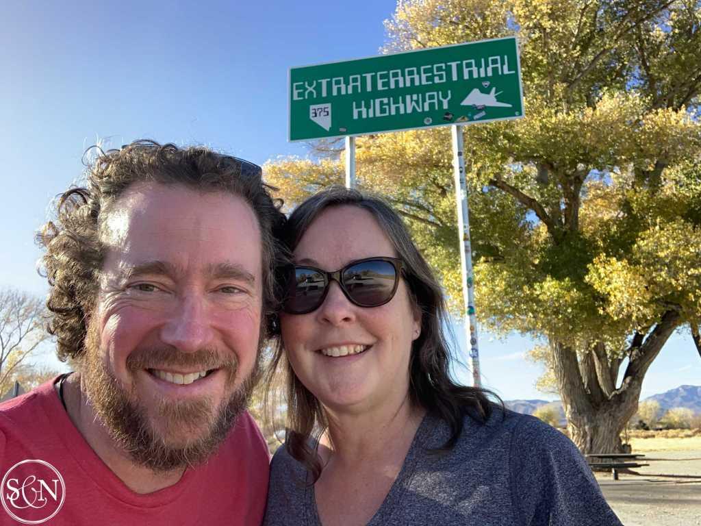 Hiking, friends & Area 51