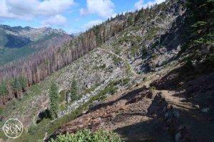 Downhill trail