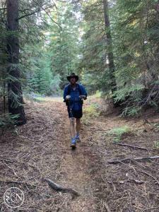 Handsome hiker