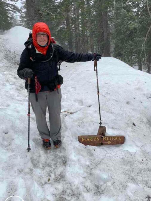 Thru hiking goals