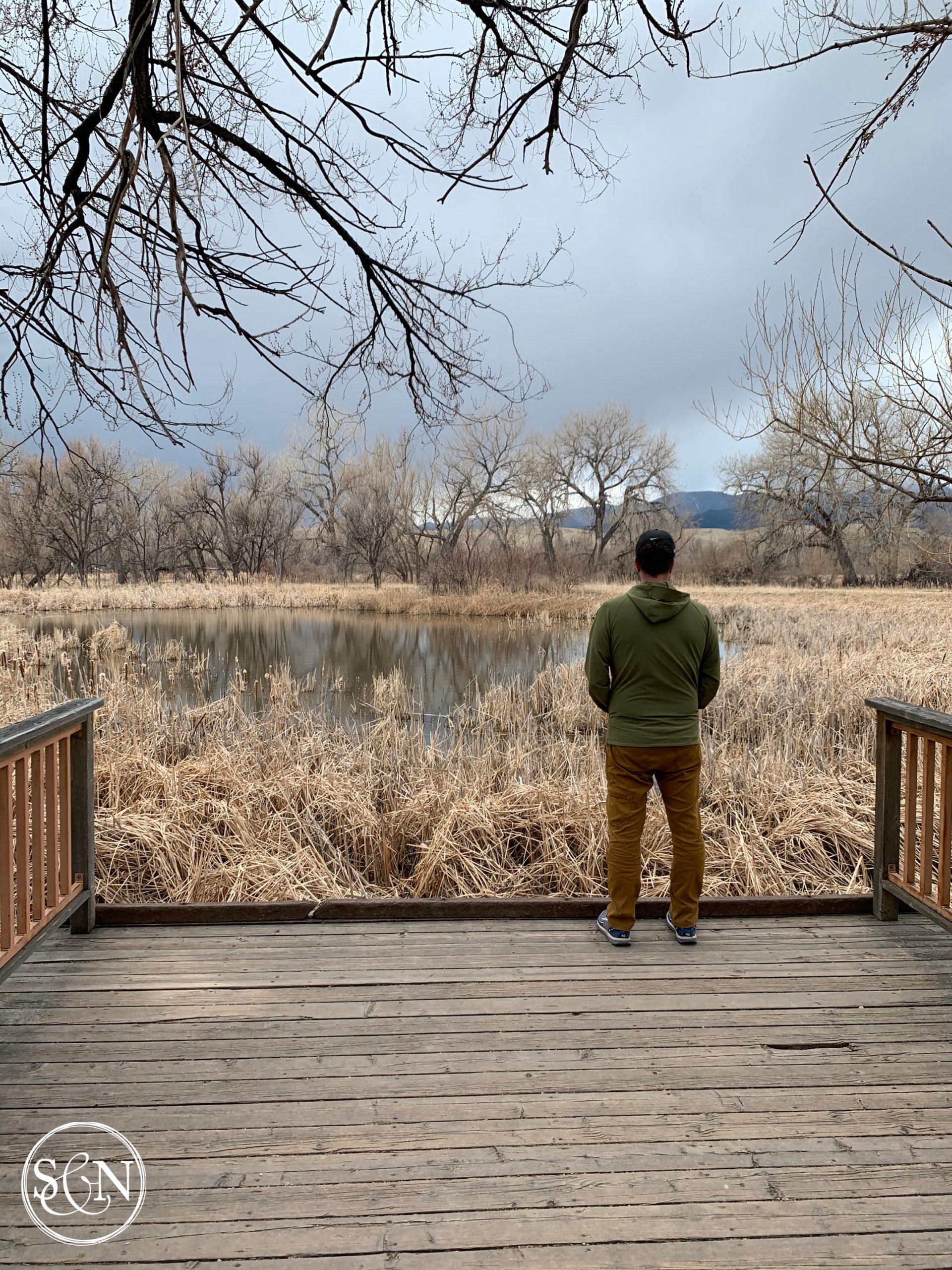 Plenty of nature observation spots